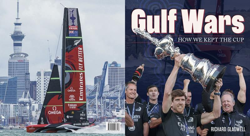 Gulf Wars - your souvenir record of the 2021 Prada Cup and 36th America's Cup - on sale at all good bookstores - photo © Upstart