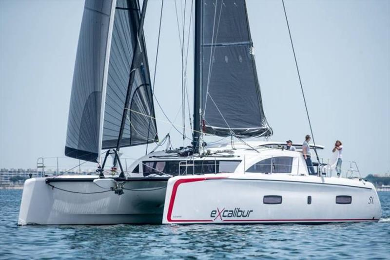 Outremer 5X Excalibur - Outremer Cup 2018 - photo © Multihull Central