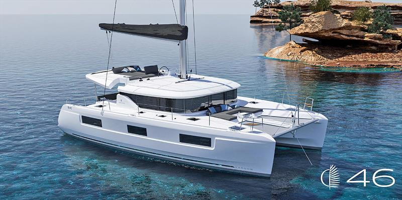 New Lagoon 46 Cruising Catamaran - photo © Groupe Beneteau