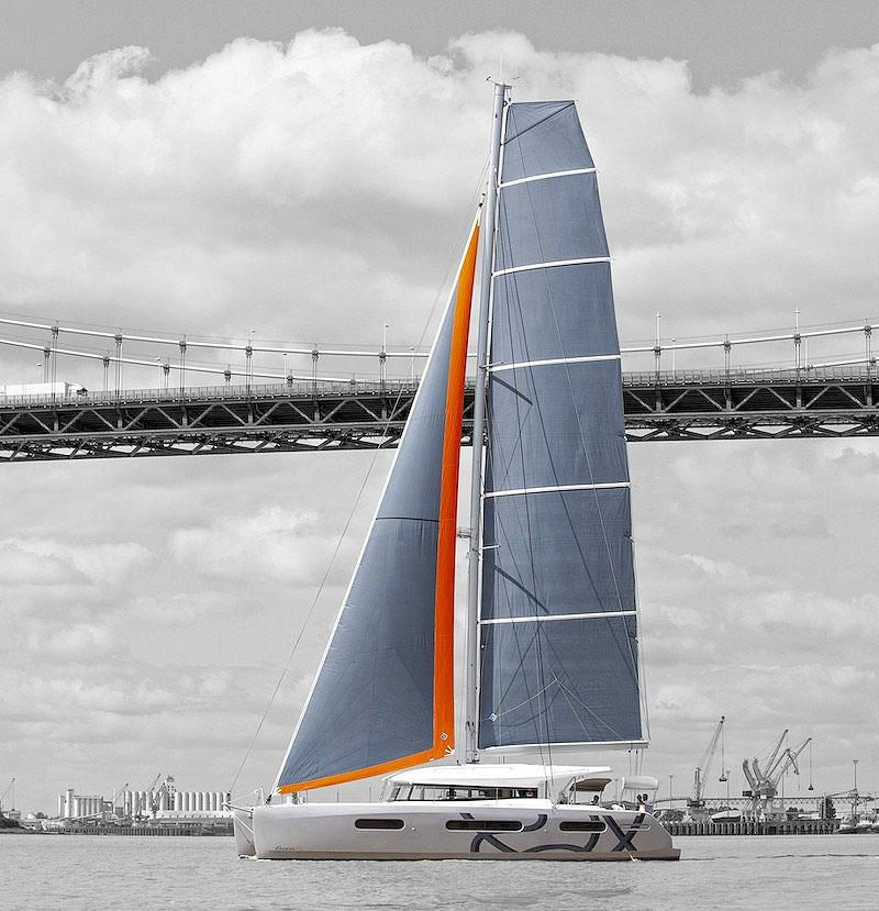 The new Excess 15 with the taller 'Pulse' rig. Ideal for light airs... - photo © Excess Catamarans