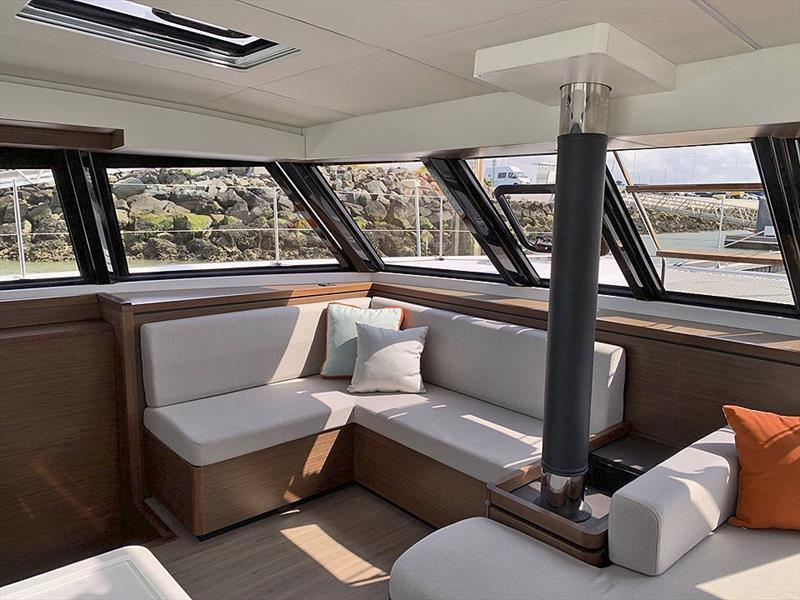 The Nautitech 46 now has a fully revised interior. - photo © Nautitech