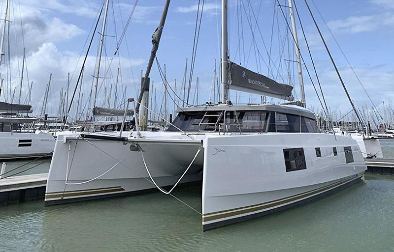 The refreshed Nautitech 46 Open with taller rig and new paint scheme - photo © Nautitech