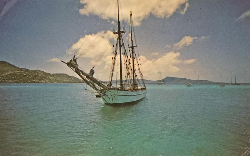 The 1860 Ketch that inspired Christian to head off into the wild blue yonder... - photo © Photo supplied
