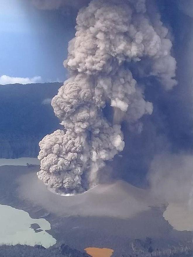 The Manaro Voui volcano on Vanuatu's Ambae Island - photo © Daria Blackwell