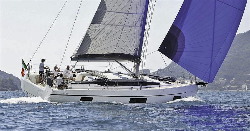 New Bavaria C45 Ambition under A-Bag during sea trials in Europe - photo © Bavaria Yachts