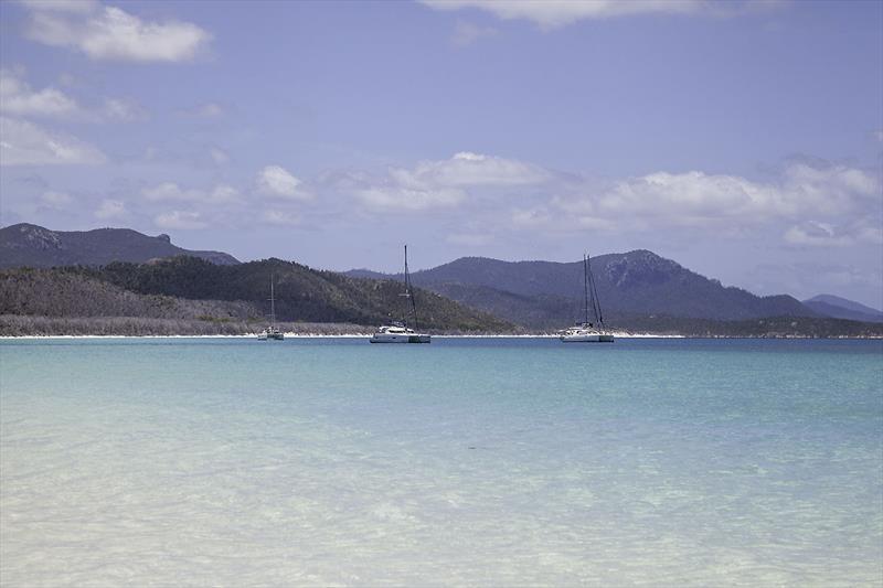 The World famous Whitehaven Beach. - photo © John Curnow