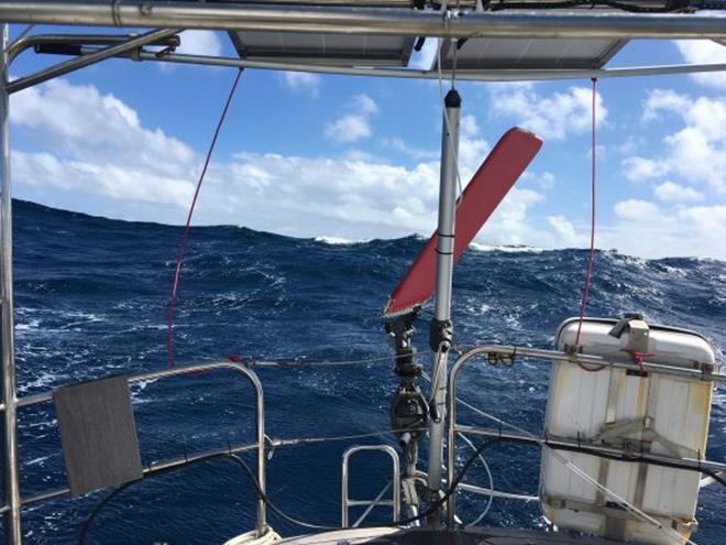 S/V Nereida sails around the world - Day 99 - photo © Jeanne Socrates