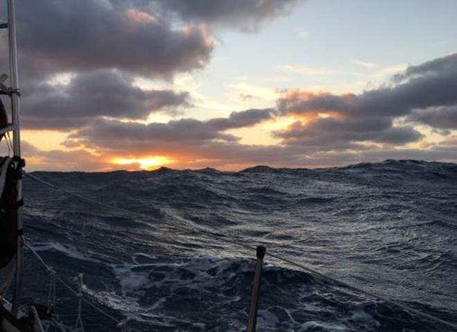 S/V Nereida sails around the world - Day 132 - photo © Jeanne Socrates