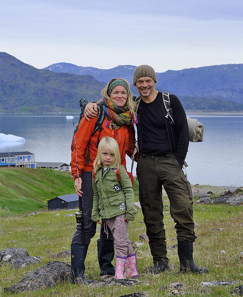 The Slungaard Myklebust clan off to go fishing in Greenland - or is that catching? - photo © Jon Petter Slungaard Myklebust