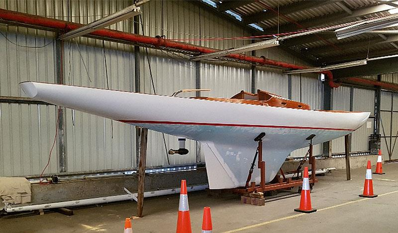Flame nearing completion - photo © Photo supplied