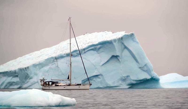 S/Y Vilja amongst Greenland's icebergs - photo © Jon Petter Slungaard Myklebust