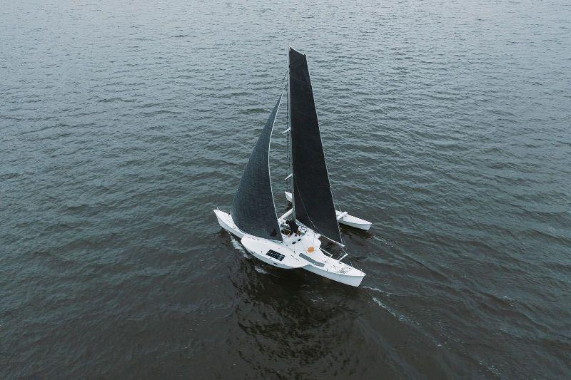 Avid Sailor Ryan Finn attempts NY to San Francisco world record - photo © 2Oceans1Rock