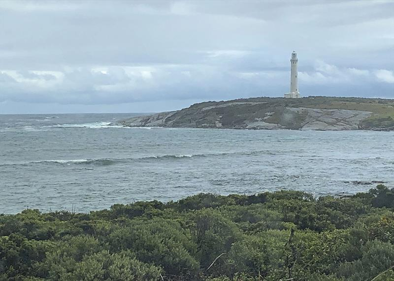Cape Leeuwin WA - where the Indian and Southern Oceans meet - Had to see it! Had no idea what it looked like, but had passed well South of it four times! - photo © Jeanne Socrates