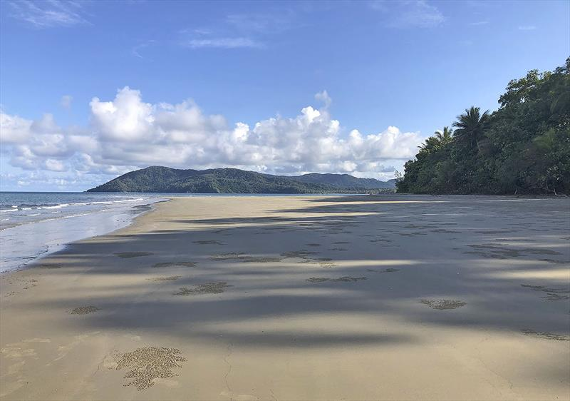 The view South on the Daintree coastline - photo © Jeanne Socrates