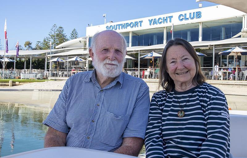 Living Legends. Bill Hatfield and Jeanne Socrates. - photo © John Curnow
