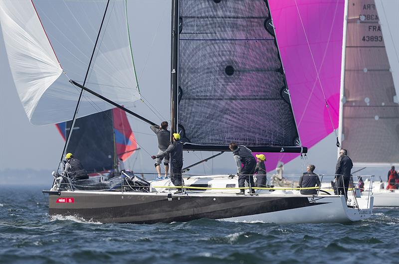 Fully crewed and symmetric mode for the J/99 - photo © J Composites