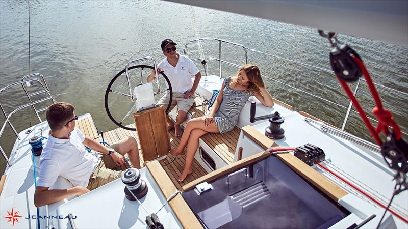 Jeanneau Sun Odyssey 319 - Plenty of room in the cockpit for a small yacht - photo © Jeanneau France