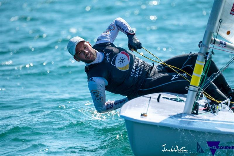 Philipp Buhl (GER) has sailed a remarkable first half of the Laser Standard World Championship regatta - photo © Jon West Photography