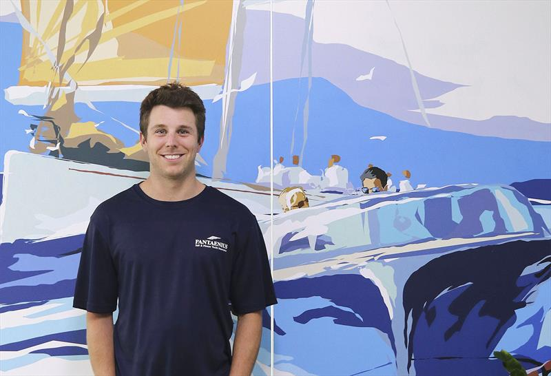 Chris Tilley from Pantaenius Sail and Motor Yacht Insurance - photo © John Curnow