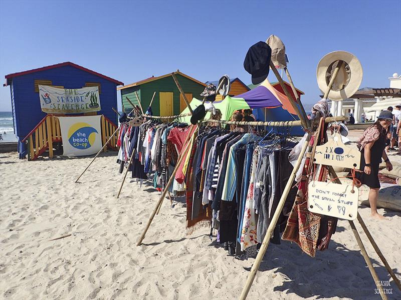 Pop up seaside market - photo © Seaside Scavenge