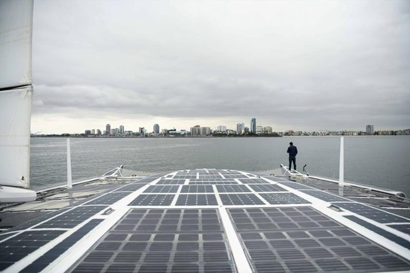 Energy Observer in Long Beach - photo © Energy Observer Productions - Mélanie De Groot Van Embden