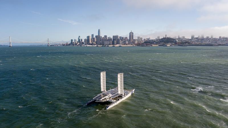 Energy Observer in San Francisco - photo © Energy Observer Productions / Josh Edelson