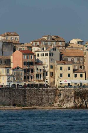Corfu Island Old Town - photo © Volvo Ocean Race