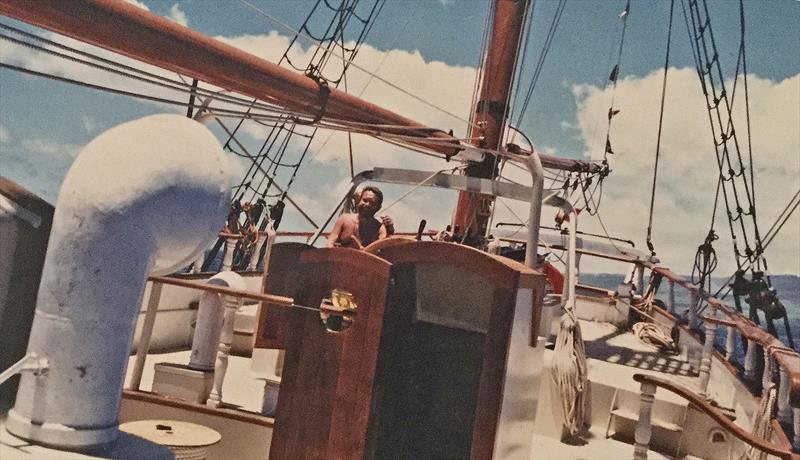 Making her passage - Hawaiian Chieftain - photo © Christian Skouw